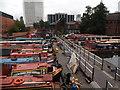 SP0686 : Canal boats, Worcester Bar, Gas Street Basin by Niki Walton