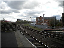 NZ4920 : Railway line east of Middlesbrough station by Richard Vince