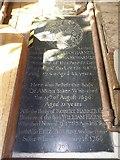 TG2834 : St Botolph, Trunch: ledger slab (5) by Basher Eyre