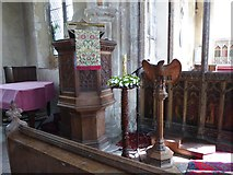 TG2834 : Inside St Botolph, Trunch (3) by Basher Eyre