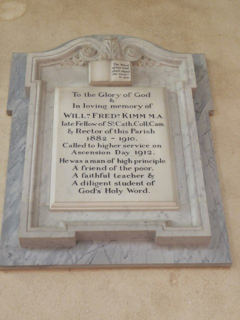 St Botolph, Trunch: memorial (viii)