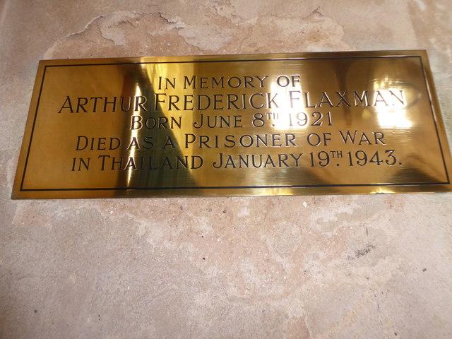 St Botolph, Trunch: memorial (xii)