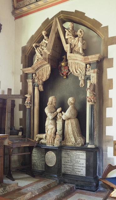 St John the Baptist, Hillingdon - Monument