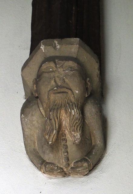 St John the Baptist, Hillingdon - Corbel