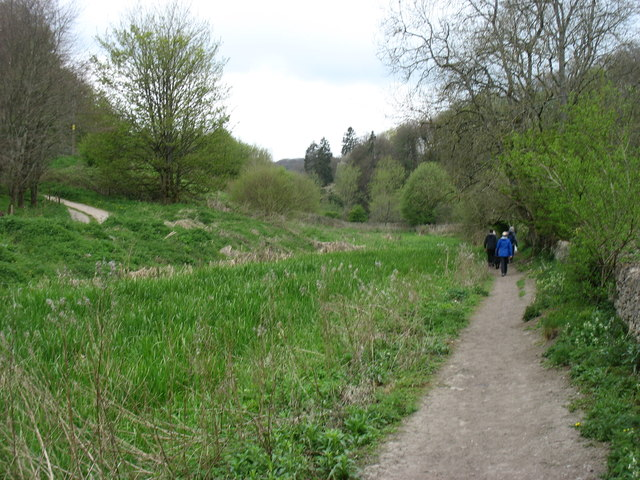 Walking beside the Thames & Severn Canal