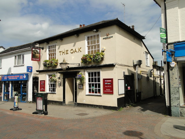 'The Oak' public house, Ipswich Street, Stowmarket