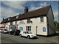 TM0558 : 'The Pickerel' Inn at Stowmarket by Adrian S Pye