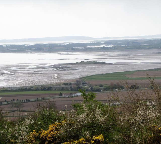 Rough Island from Scrabo Hill