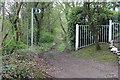 ST1899 : Sirhowy Valley Walk from former Cwrt-y-bella Crossing by M J Roscoe