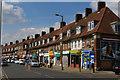 TQ2091 : Burnt Oak: parade of shops on Deansbrook Road by Christopher Hilton