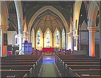 TQ1572 : Holy Trinity, Twickenham Green - East end by John Salmon