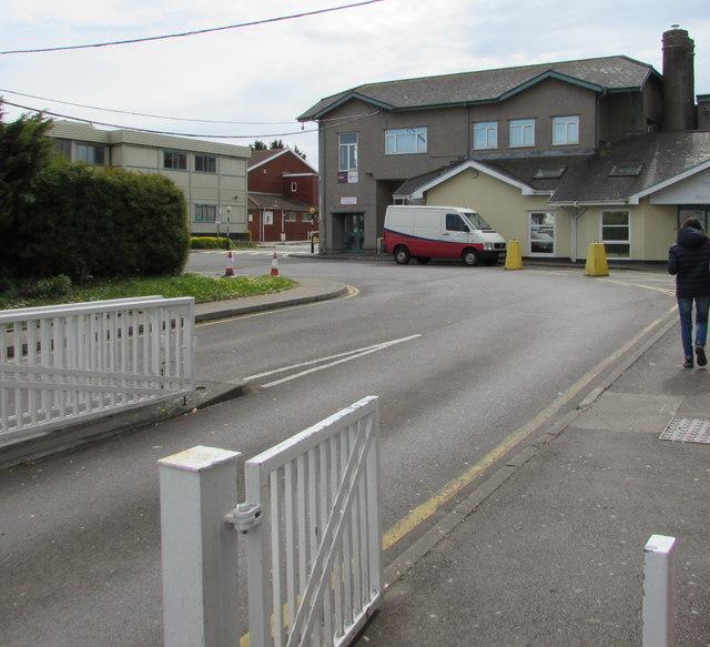 Entrance to Bridgend College, Bridgend