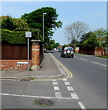 ST3050 : No vehicular access to the beach via Gore Road, Burnham-on-Sea by Jaggery