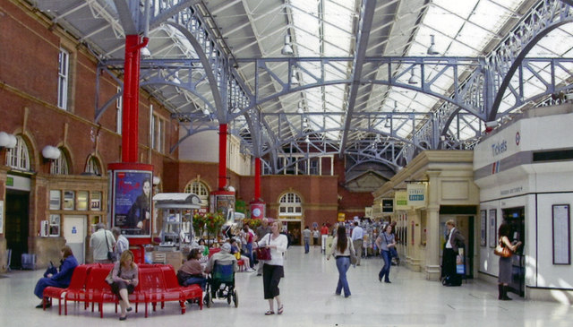 Marylebone station, concourse 2006
