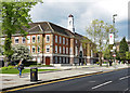 TQ2289 : Middlesex University, The Burroughs, Hendon by Jim Osley
