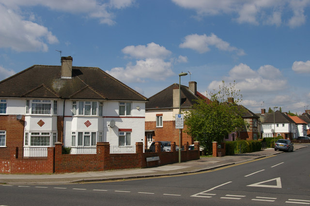 Housing on Brookfield Avenue, Mill Hill