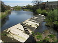 NT5173 : Weir on the River Tyne by M J Richardson