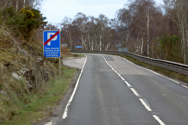 NOT a Layby on the Northbound A82
