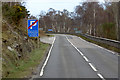 NH5735 : NOT a Layby on the Northbound A82 by David Dixon
