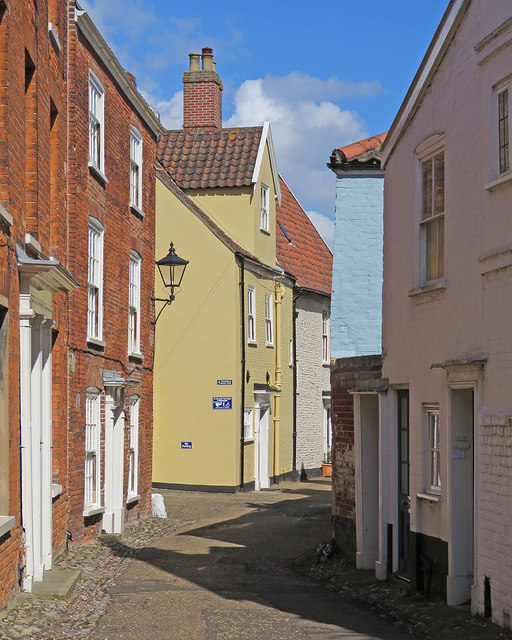 Norwich: in Hook's Walk