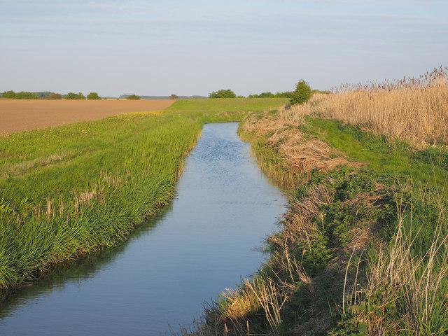 Ditch south of East Carr Bridge