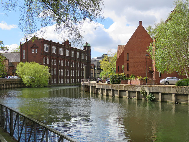 Norwich: beside the Wensum