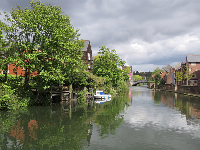 Norwich: a view from Quayside