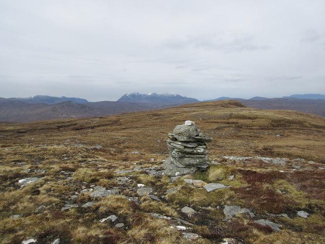 Cairn on Creag Raineach Mor