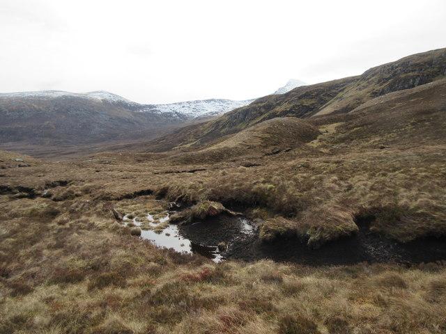 View of Beinn Liath Mhor Fannich