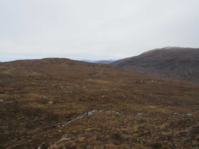 Rough ground in north Fannichs