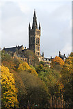 NS5666 : The Tower at Glasgow University by Malcolm Neal