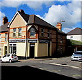 ST1368 : White Lightning Launderette, Cadoxton, Barry by Jaggery