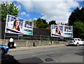 ST1368 : Seeing double in Vere Street, Cadoxton, Barry by Jaggery