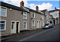 ST1368 : Houses and satellite dishes, Northcote Terrace, Cadoxton, Barry by Jaggery