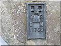 NY8261 : Ordnance Survey Flush Bracket 11739 by Peter Wood