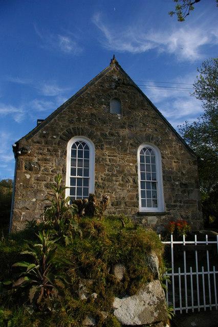 Converted chapel, above Newport / Trefdraeth