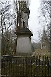 TQ3386 : Abney Park Cemetery - Isaac Watt Memorial by N Chadwick