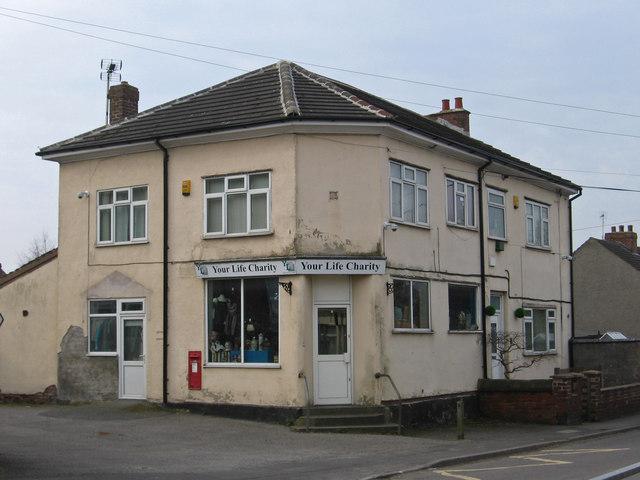 Pilsley - former post office on Morton Road
