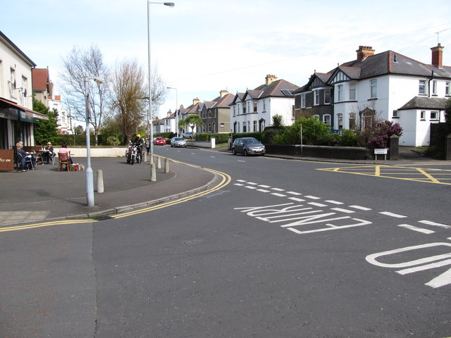 The junction of Sheridan Drive and Groomsport Road