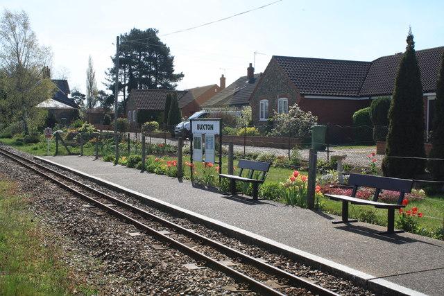Buxton Bure Valley Railway Station