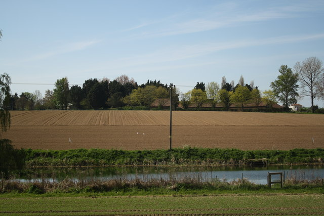 Hill Farm from the Bure Valley Railway