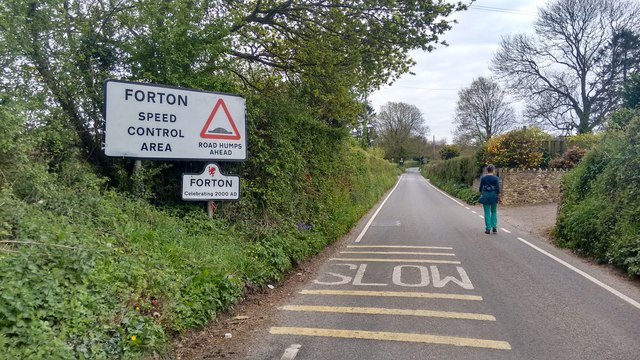 Forton - 2000 years of speed control?