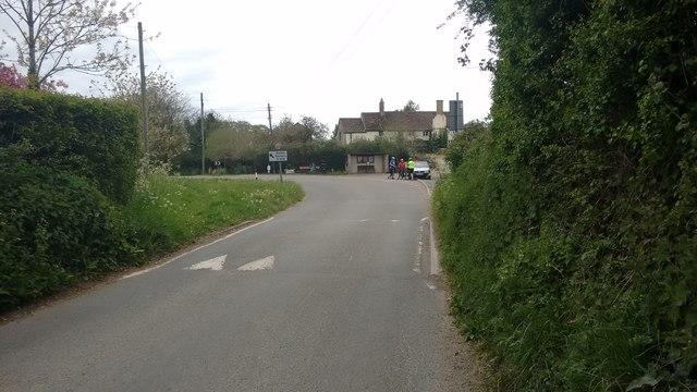Forton village centre