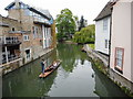 TL4458 : Punting on the River Cam by Richard Sutcliffe