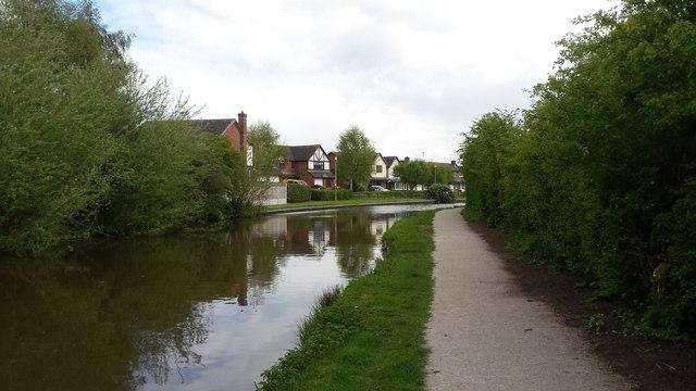 Canal near Little Stoke