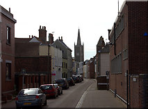 TM2532 : Church Street, Harwich by Robert Eva