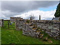 NH6654 : St Duthac's Church Graveyard by valenta
