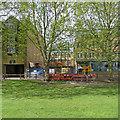 TL4557 : Building work on Regent Terrace by John Sutton