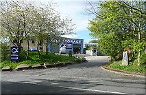 SE1025 : Quigley Crabtree Self Storage, Beacon Hill Road, Halifax by Humphrey Bolton