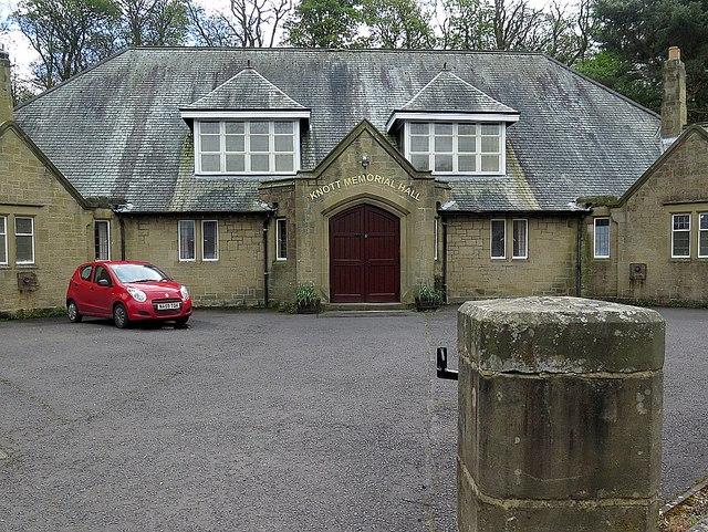 Knott Memorial Hall, Heddon on the Wall